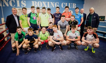 Limerick hurlers team up with St Francis Boxing Club for fundraising night