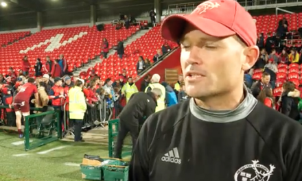 "WATCH: Jacques Nienaber ""I will miss Munster dearly"""