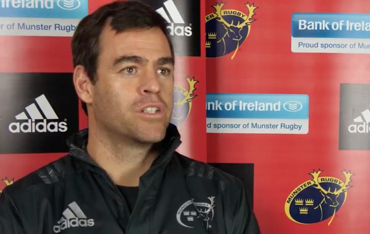 Van Graan focused solely on Munster despite Matt O'Connor comments