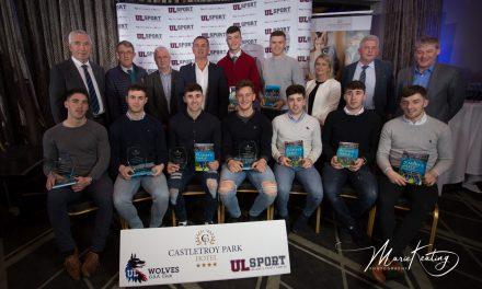 Nine members of Limerick's U21 All Ireland winning team honoured by UL GAA