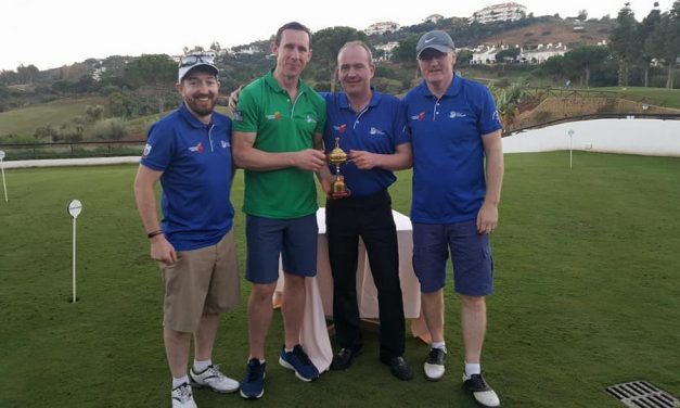 Ollie Moran's Limerick side wins Shannon Airport Cup in Benalmadena
