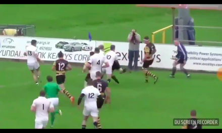 WATCH: Young Munster's score a superb try on their way to beating Cork Con last weekend
