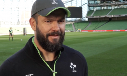 WATCH: Ireland Assistant coach Andy Farrell looking forward to South Africa clash