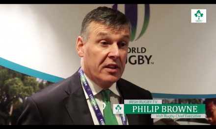 WATCH: IRFU's Phillip Browne reacts to France winning 2023 World Cup bid