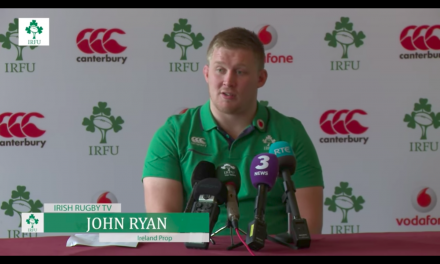 John Ryan returns to Irish squad ahead of Argentina game