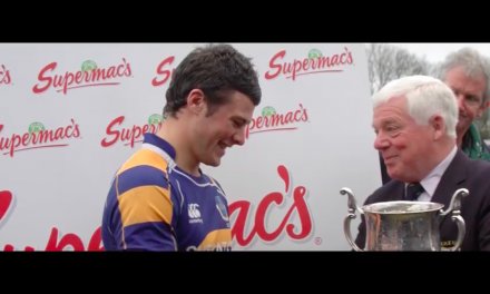 WATCH: Ireland's Robbie Henshaw talks about his beginning's in rugby with Buccaneers