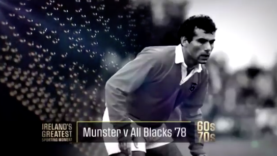 WATCH: Is Munster V All Blacks shortlisted for greatest sporting moment 60/70s