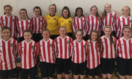Seven Limerick Girls representing Munster at this weekend's U15 FAI Interpros