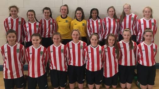 Seven Limerick Girls representing Munster at this weekend's U15 FAI Interpros