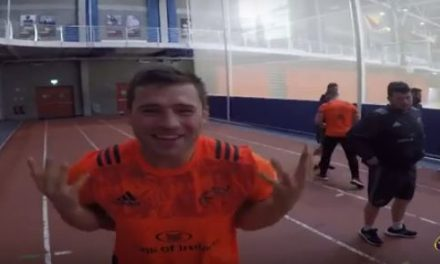 Watch – A great insight into a day in the life of a Munster Rugby Player