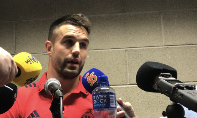 """Conor Murray – """"Packed stadiums with a lot on the line I think that's when we thrive"""""""
