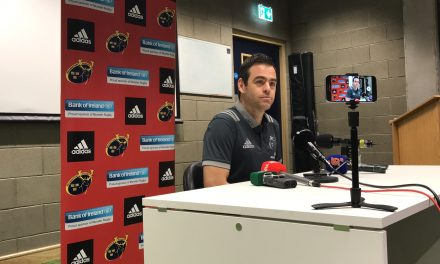 WATCH: Johann van Grann – Normally I'm on the beach playing with my boys on the 26th of December in the sunshine now it's Munster versus Leinster