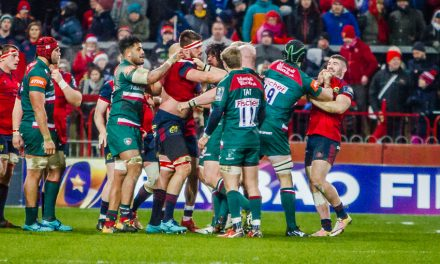 "Johann van Graan on clash with Leicester – ""Different conditions different referee but still the same game of rugby"""