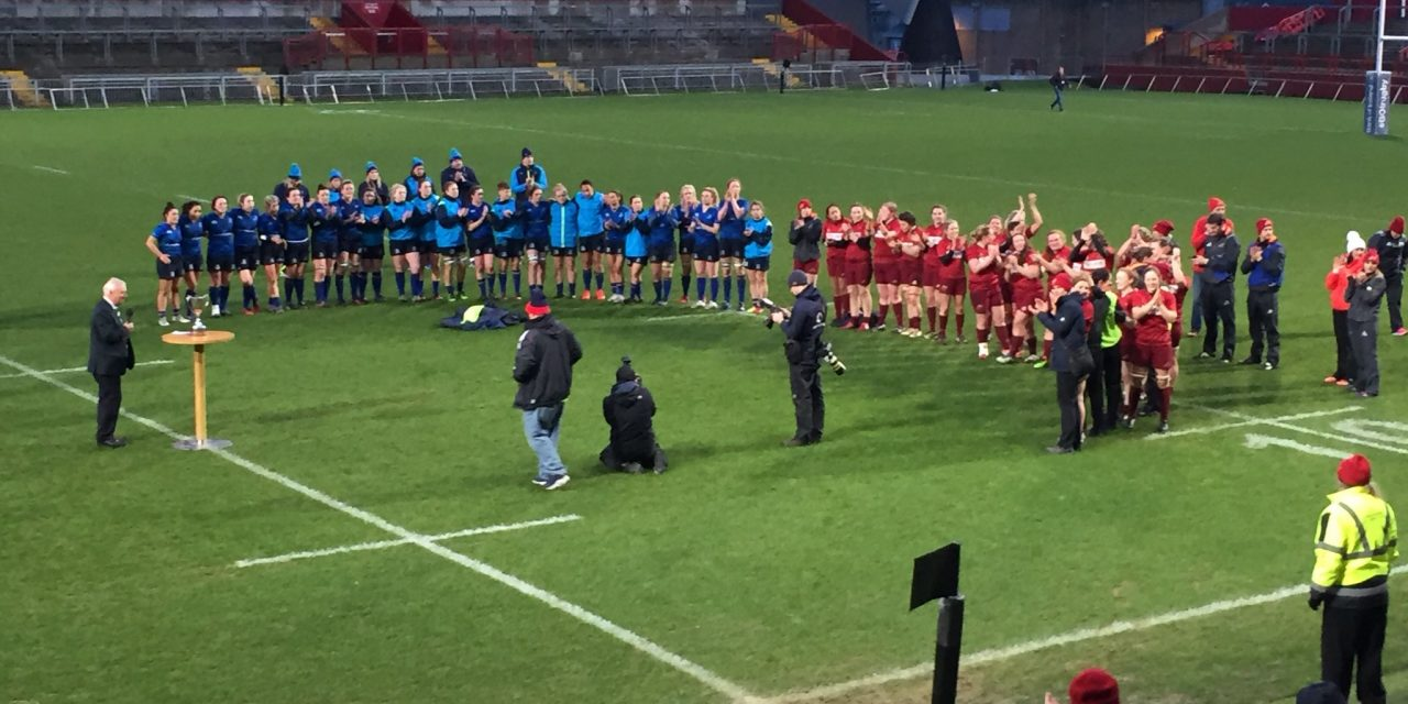 LISTEN: Laura Guest praises 'effort and energy' of players following Interpro title