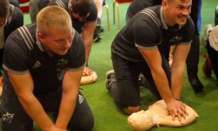 WATCH: Munster squad put their CPR skills to the test
