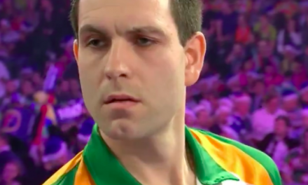 WATCH: Limerick man Willie O'Connor throws superb High Pressure checkout at the PDC World Championship