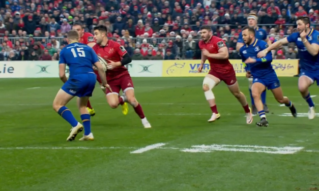 Watch – Highlights of Munster's Pro 14 loss to Leinster