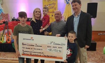 Limerick powerlifting charity event raises over €13,000 for  Heart Children Ireland