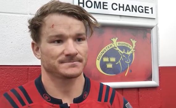 WATCH: Cloete & Farrell give post match reaction to Munster win