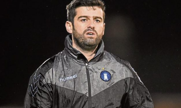 Limerick FC manager Tommy Barrett speaks to Sporting Limerick ahead of visit to Sligo Rovers