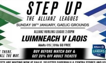 Limerick looking to get league challenge up and running as Laois visit Gaelic Grounds