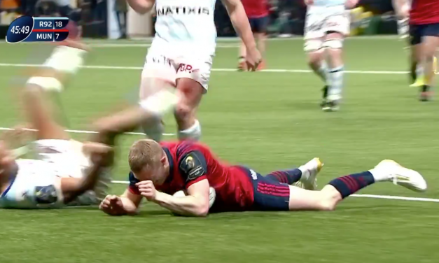 WATCH: Keith Earls electric score nominated for try of round 5