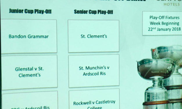 Munster schools Senior and Junior cup draws confirmed