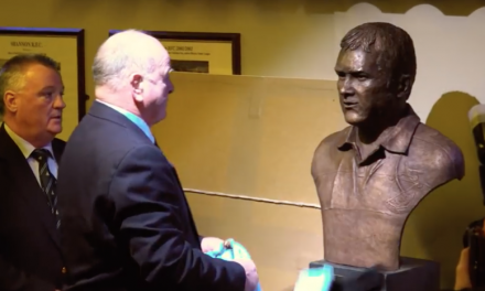 WATCH: Behind the scenes of creation of Anthony Foley bronze bust