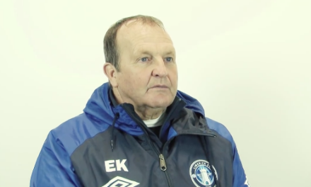 WATCH: Eric Kinder returns to England following spell with Limerick FC