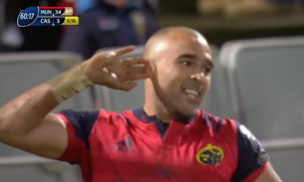 WATCH: Simon Zebo nominated for try of Round 6