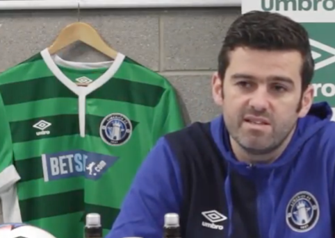 Barrett confident ahead of Airtricity League season and confirms double signing