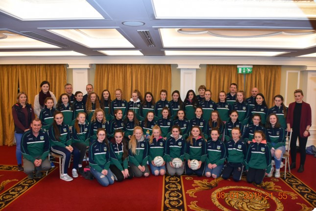 Limerick Ladies Underage Football season Launched in Adare on Monday