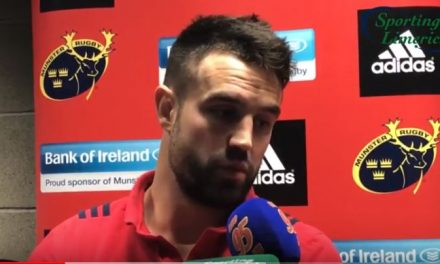 WATCH – Versatile scrum half Conor Murray on his kicking game