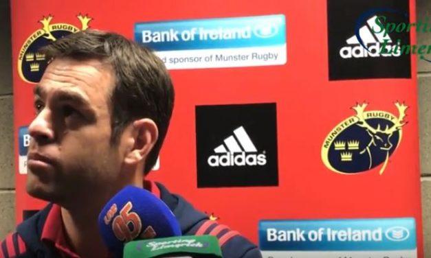 WATCH – Johann van Graan says Munster stand behind Grobler