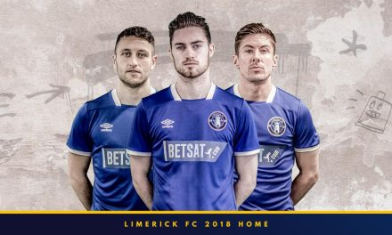 Limerick FC launch official home jersey for the 2018 Airtricity League season