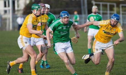 Limerick cruise past Antrim to book 1B decider with Galway