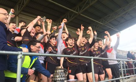 Ardscoil Rís take on St Kierans in Croke Cup Semi Final