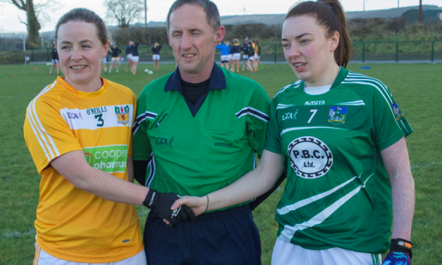 Limerick Ladies footballers record ten point win over Antrim
