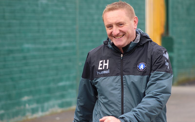 Eddie Hickey leaves Limerick FC three days before the beginning of the Airtricity League season