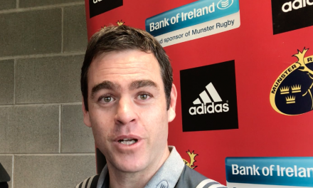 WATCH – Johann van Graan on Ireland win Munster injuries and new contracts