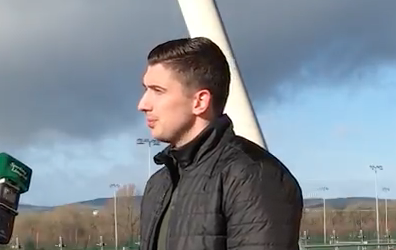"WATCH: Shaun Kelly ""very happy"" to return to Limerick FC for the new season"