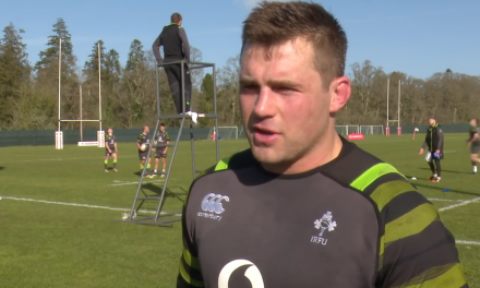 WATCH: CJ Stander looks ahead to Ireland V Wales this weekend
