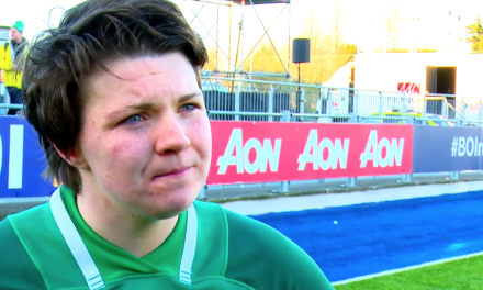 WATCH: Ciara Griffin happy with Ireland's progression in Six Nations