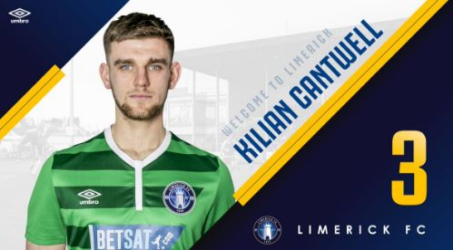 "LISTEN – Kilian Cantwell ""delighted"" to put pen to paper with Limerick FC"