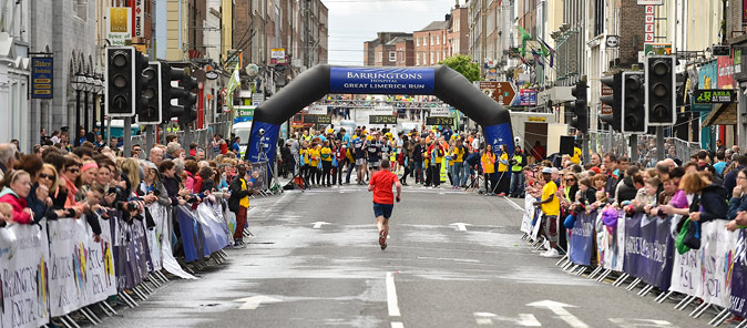 Early bird registration for Bon Secours Great Limerick Run ends at Friday midnight