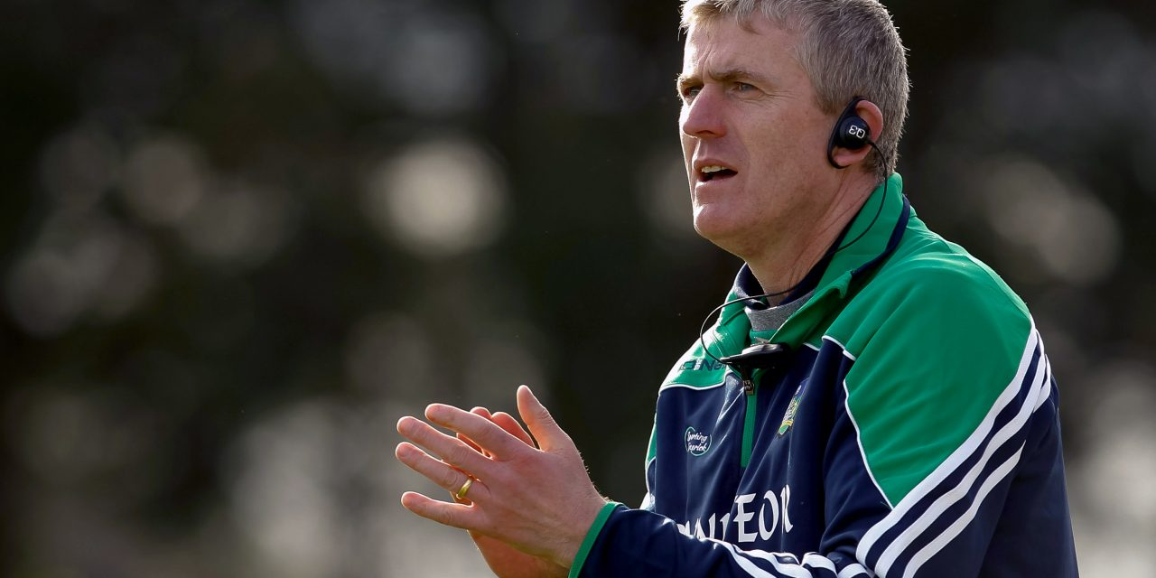 LISTEN: John Kiely relishing Division 1B showdown with Galway