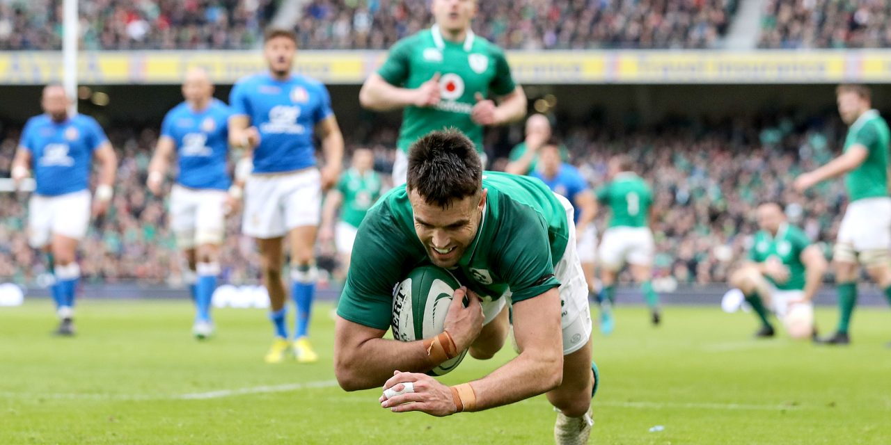 Ireland rout Italians but could yet rue injuries and tries conceded