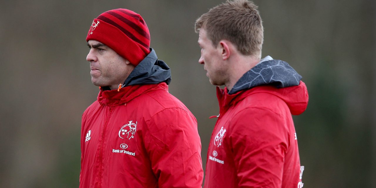 Munster squad update ahead of Edinburgh Pro14 clash