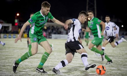 Limerick FC are taught a footballing lesson by Dundalk in Oriel Park