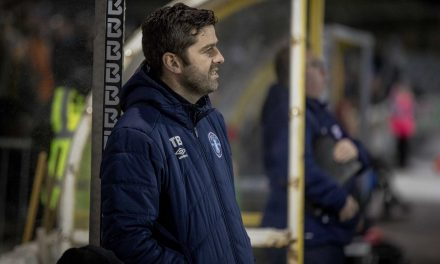 "Tommy Barrett says Limerick FC are ""fairly on target"" with points total"